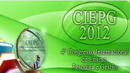 CIEPG - 4º Congresso Internacional de Educação
